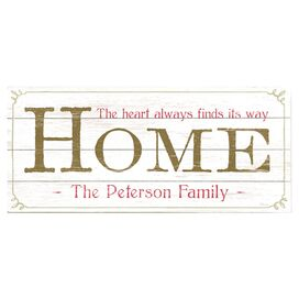 Personalized Home Wall Decor