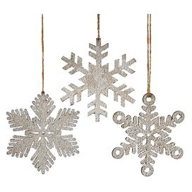 Let It Snowflake Ornament