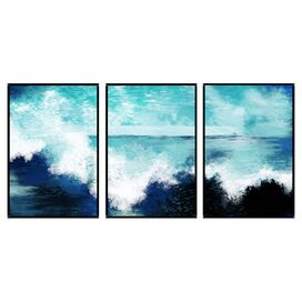 Waves Wall Decor (Set of 3)