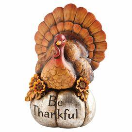 Be Thankful Turkey Decor