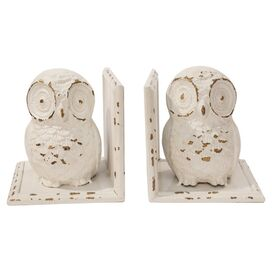 Hoot Owl Bookend