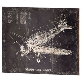 Dive Bomber Wall Decor