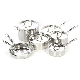 Cuisinart 12-Piece Multiclad Stainless Steel Cookware Set