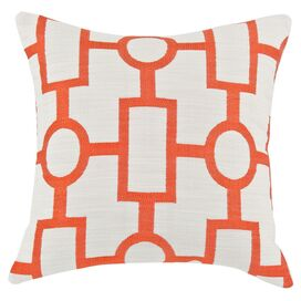 Coventry Pillow in Mandarin