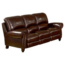 "Charlotte 66"" Leather Sofa"