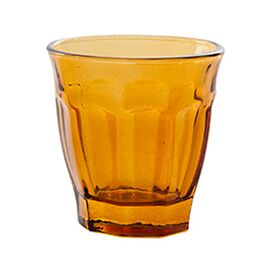Cafe Glass in Amber (Set of 6)