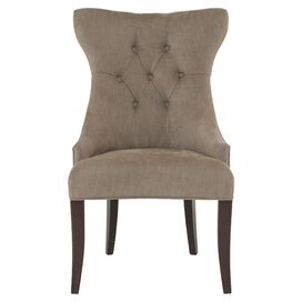 Samantha Tufted Accent Chair in Camel