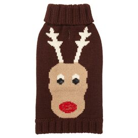 Holiday Reindeer Pet Sweater