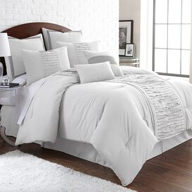 8-Piece Marnie Comforter Set in Off-White