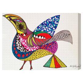 Bird Canvas Print, Oliver Gal