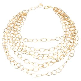Cheya Necklace in Gold