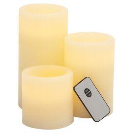 3-Piece Samantha LED Candle Set