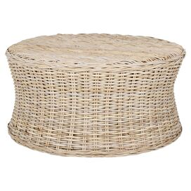 Kingston Wicker Ottoman