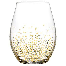 Amelia Stemless Wine Glass (Set of 4)