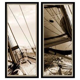 Voyager Framed Giclee Print (Set of 2)