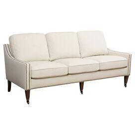 """Macie 70"""" Sofa in Ivory"""