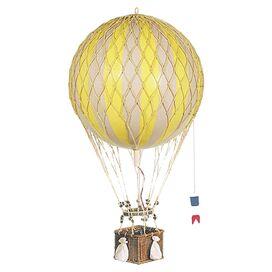 Royal Hot Air Balloon Decor in Yellow