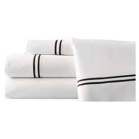 4-Piece Firenze Sheet Set in Black
