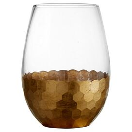 Daphne Stemless Wine Glass in Gold (Set of 4)