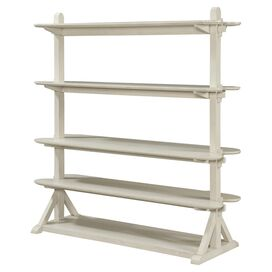 Jefferson Display Shelf in Off-White