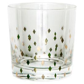 Diamond Double Old Fashioned Glass (Set of 4)