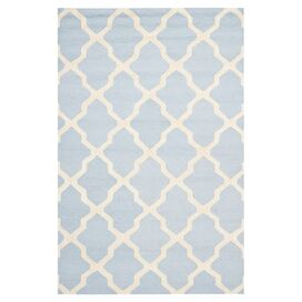 Adela Rug in Light Blue
