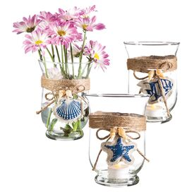 Block Island Candleholder (Set of 3)