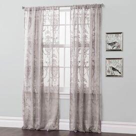 Anya Curtain Panel in Gray (Set of 2)