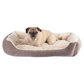 Kendra Pet Bed in Grey