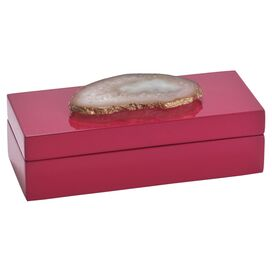 Leandra Agate Jewelry Box