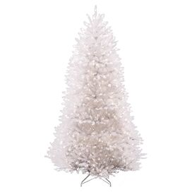 Pre-Lit Faux Dunhill Fir Tree
