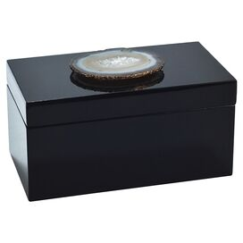 Fiona Agate Jewelry Box
