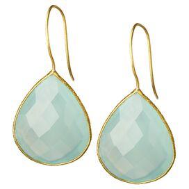 Maya Earrings in Aqua
