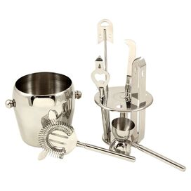 7-Piece Bolero Stainless Steel Bar Essentials Set
