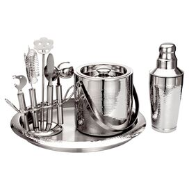 9-Piece Stainless Steel Bar Set