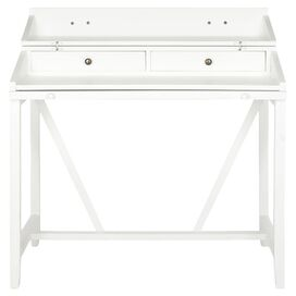 Rivington Writing Desk in White