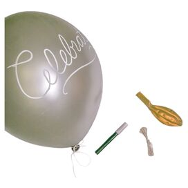Message Balloon Kit in Gold
