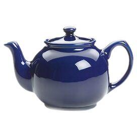 Ceramic 10-Cup Teapot in Blue