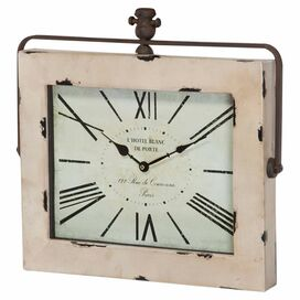 Marron Wall Clock