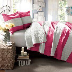 Katherine Quilt Set in Hot Pink