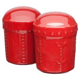 Sorrento Salt & Pepper Shaker in Ruby