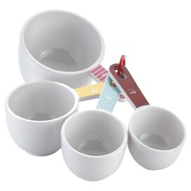 4-Piece Cake Boss Melamine Measuring Cup Set