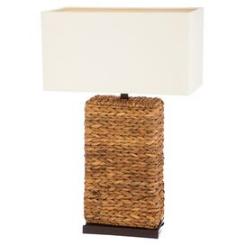 Tiffany Rattan Table Lamp (Set of 2)