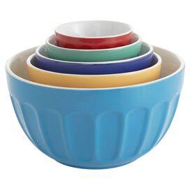 5-Piece Bistro Prep Bowl Set in Multi