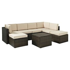8-Piece Bethany Wicker Seating Group Set