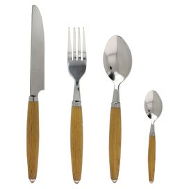 24-Piece Astra Stainless Steel Flatware Set