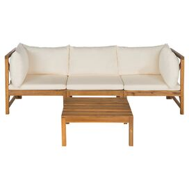 Lynwood Patio Sectional Seating Group in Natural