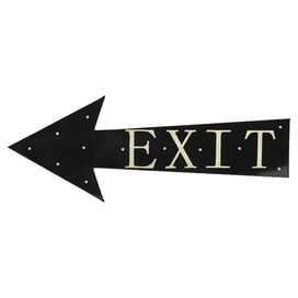 Exit Sign Wall Decor