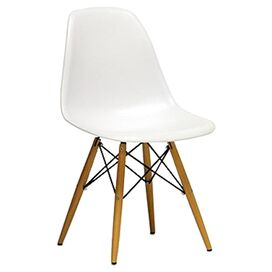 Mylo Side Chair in White (Set of 2)
