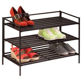 3-Tier Folding Shoe Shelf